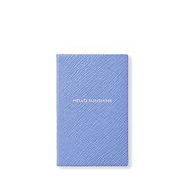 Leather Hello Sunshine Wafer Notebook