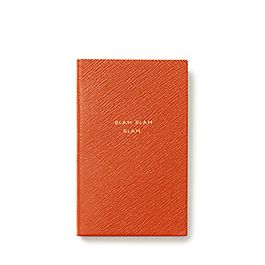 Leather Blah Blah Blah Panama Notebook