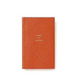 Leather Make It Happen Panama Notebook