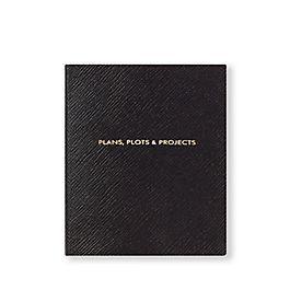Carnet Premier, Plans Plots and Projects en cuir