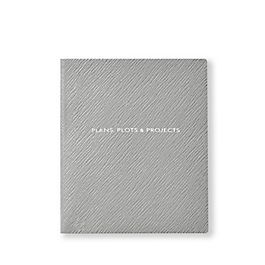 Leather Plans, Plots and Projects Premier Notebook