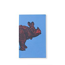 Quaderno Panama animali in pelle