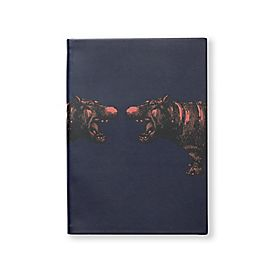 Soho-Notizbuch aus Leder mit Tiermotiv