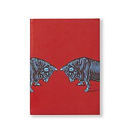 Soho Notizbuch aus Leder mit Tiermotiv