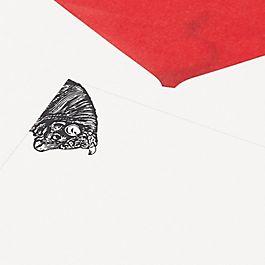 Biglietti di corrispondenza animale toro archivio