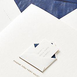 Mini carte enveloppe Thank You