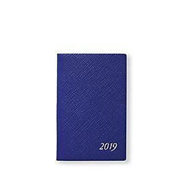 Leather 2019 Wafer Agenda with Pocket