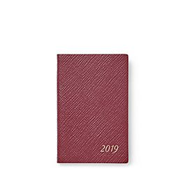 Leather 2019 Wafer Diary