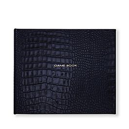 «Game Book» Relié en cuir