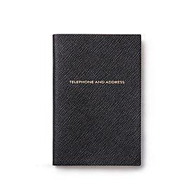 Chelsea Adress- und Telefonbuch aus Leder