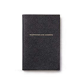 Leather Address and Telephone Chelsea Book