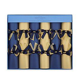 Boîte de 6 papillotes de Noël de luxe