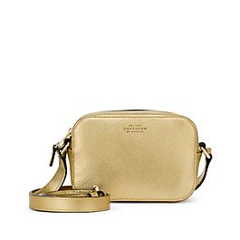 Leather Mini Crossbody Bag with Leather Strap