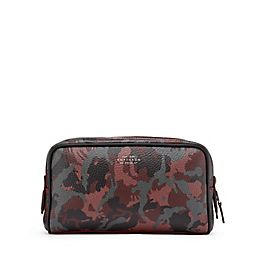 Leather Small Washbag