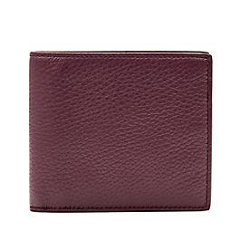 Brieftasche aus Leder mit 6 mit sechs Kartenfächern