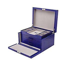 Leather 3 Drawer Jewellery Box