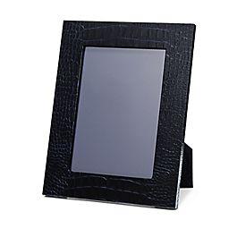 Cadre photo moyen en cuir