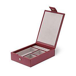 Leather Travel Tray Jewellery Box