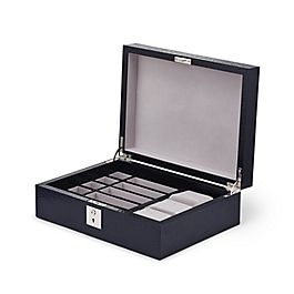 Leather Small Gentlemen's Accessory Box