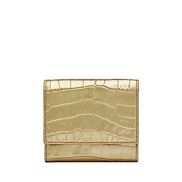 Porte-monnaie français en cuir