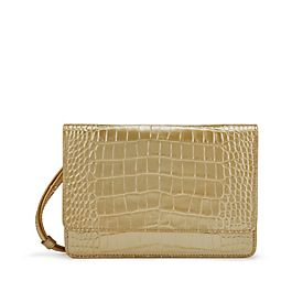 Leather Purse with Strap