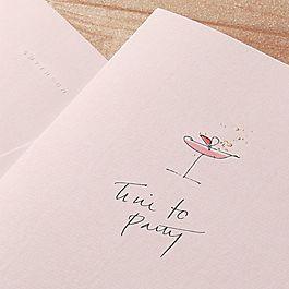 Fleurissimo Cocktail Card