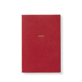 Carnet Notes Chelsea en cuir