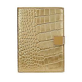 Copertina per passaporto in pelle