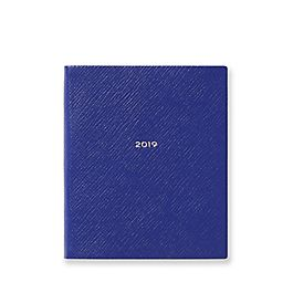 Leather 2019 Fashion Diary Day Per Page