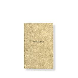 Leather #Fakenews Wafer Notebook