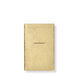 Leather #Winning Wafer Notebook