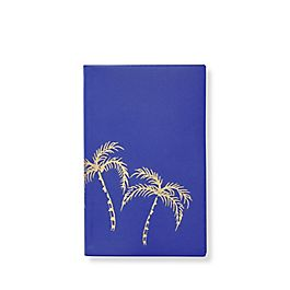Leather Palm Tree Panama Notebook