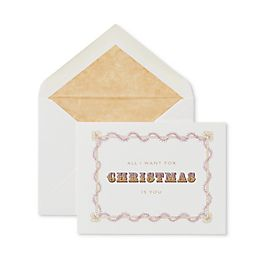 All I Want Christmas Card
