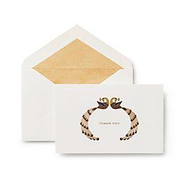 Thank You Peacock Card