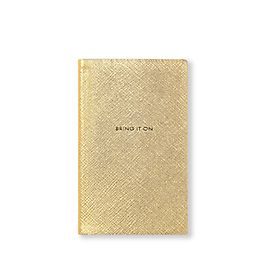 Leather Bring It On Panama Notebook