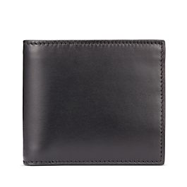 Portafoglio in pelle con tasca per documento