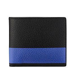 Portafoglio con 6 tasche per carte di credito in pelle