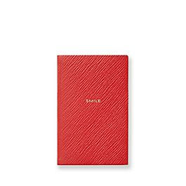Leather Smile Wafer Notebook