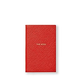 Leather The Boss Wafer Notebook