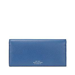 Portefeuille compact pour manteau en cuir avec compartiment à pièces