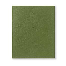 Carnet Portobello en cuir avec pages blanches
