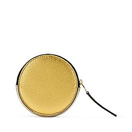 Leather Round Coin Purse