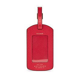 Leather Luggage Tag