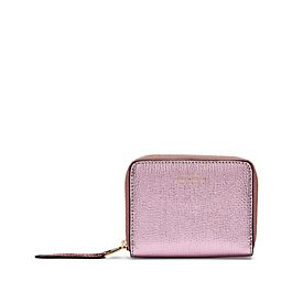 Leather Zip Coin Purse