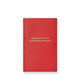 Leather Good Intentions Panama Notebook
