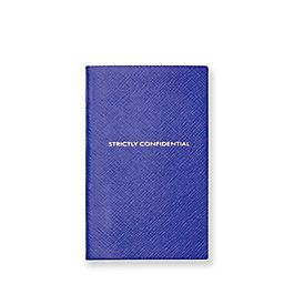 Leather Strictly Confidential Panama Notebook