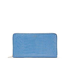 Reisebrieftasche aus Leder mit Reißverschluss