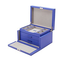 Leather 3 Drawer Jewellery Box
