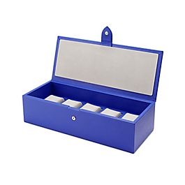 Boîte en cuir pour montres