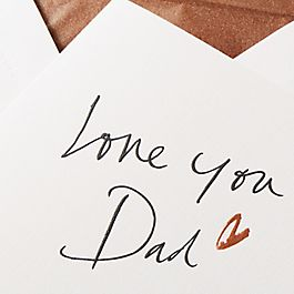 "Vatertagskarte ""Love You"""